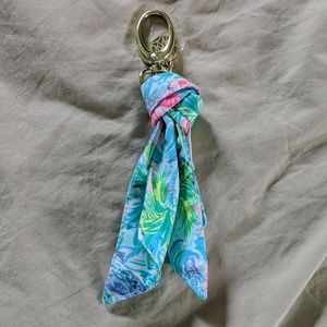 Lilly Pulitzer keychain